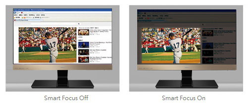 Distraction-free Viewing with Smart Focus