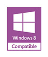 Windows® 8 Compatible for Versatility