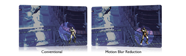 Motion Blur Reduction 2.0 for Better Clarity Throughout the Game