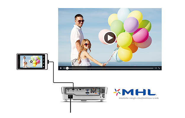 HT1085ST Plug-and-Play Mobile Entertainment with Mobile High-Definition Link (MHL)