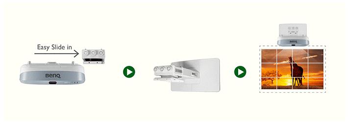 Easy Installation with BenQ Wall Mounts